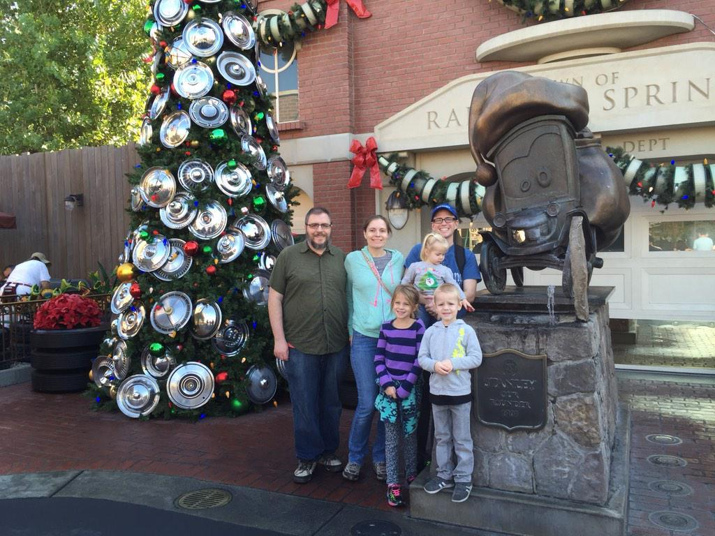 Christmas Was The Polar Opposite Shirtsleeves At Disneyland