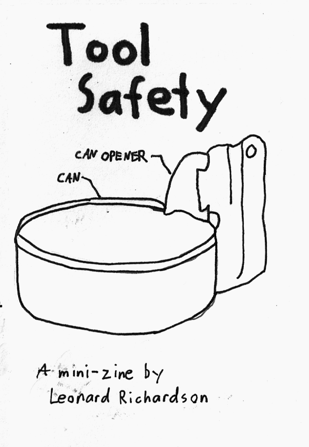 Tool Safety: A Beautiful Soup zine